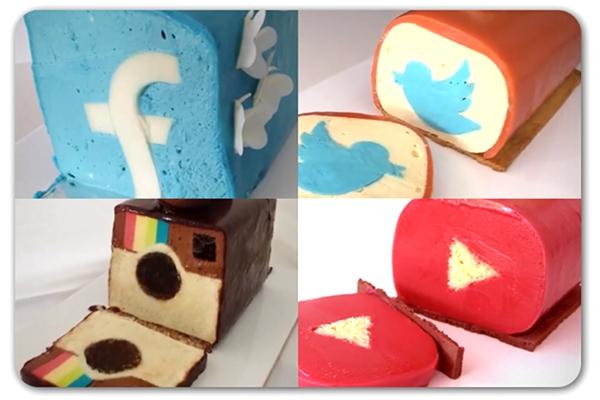 DIY Social Media Cakes