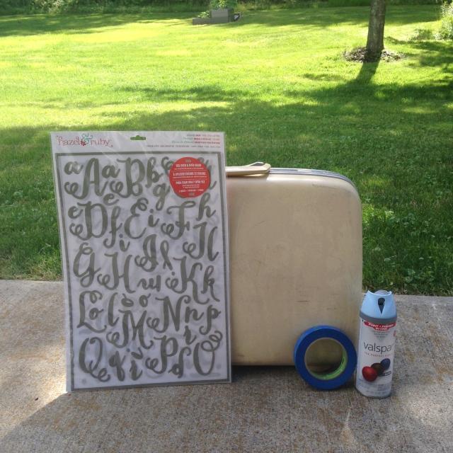 DIY wedding | suitcase
