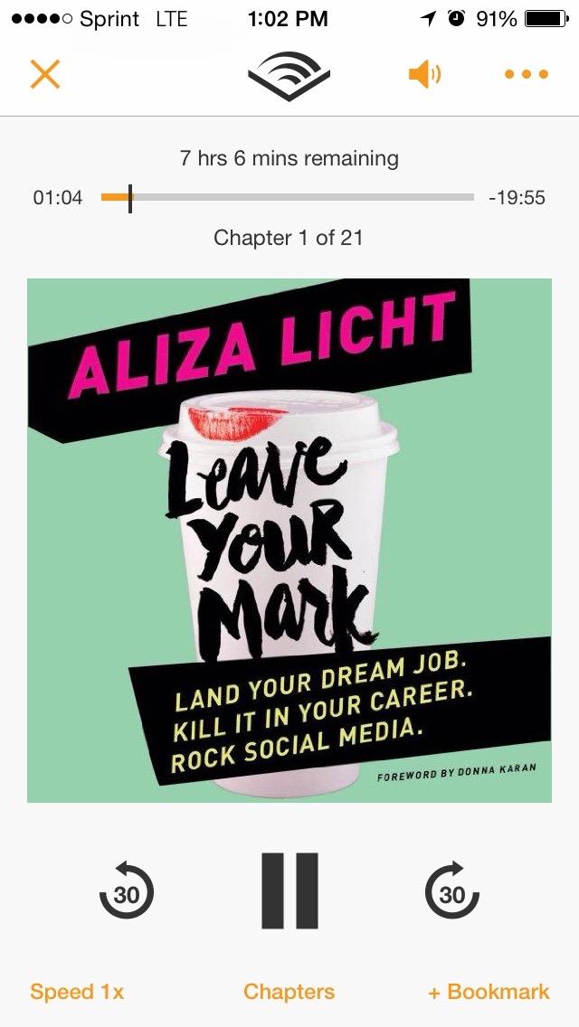 Aliza Licht audiobook
